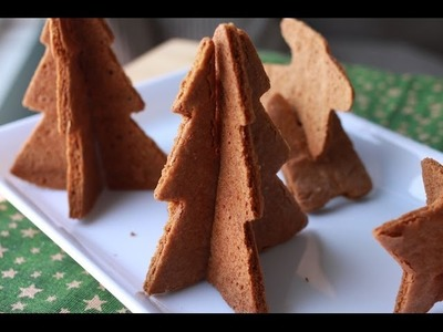 How To Make 3D Gingerbread Cookies