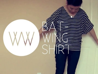 How to Make a Batwing Shirt