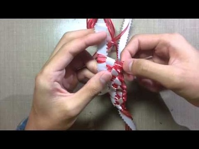 How to make a Easy Ribbon Lei