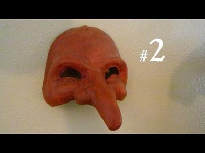 How to Make a Mask - Pantalone, part 2