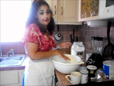 How To Make Homemade Tortillas de Harina
