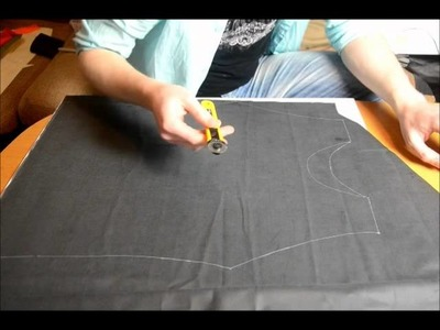 How to make latex fetishwear, tutorial 4  cutting latex