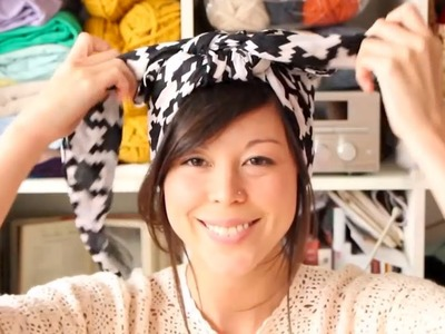 How to tie a headscarf -- Mollie Makes