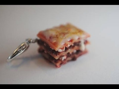Lasagna Tutorial, Miniature Food Tutorial, Polymer Clay Tutorial