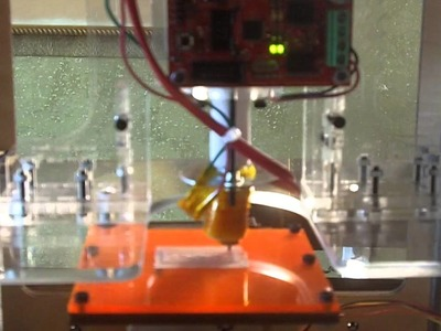 MakerBot Extrusion Failure - building a lego part with a 3D printer