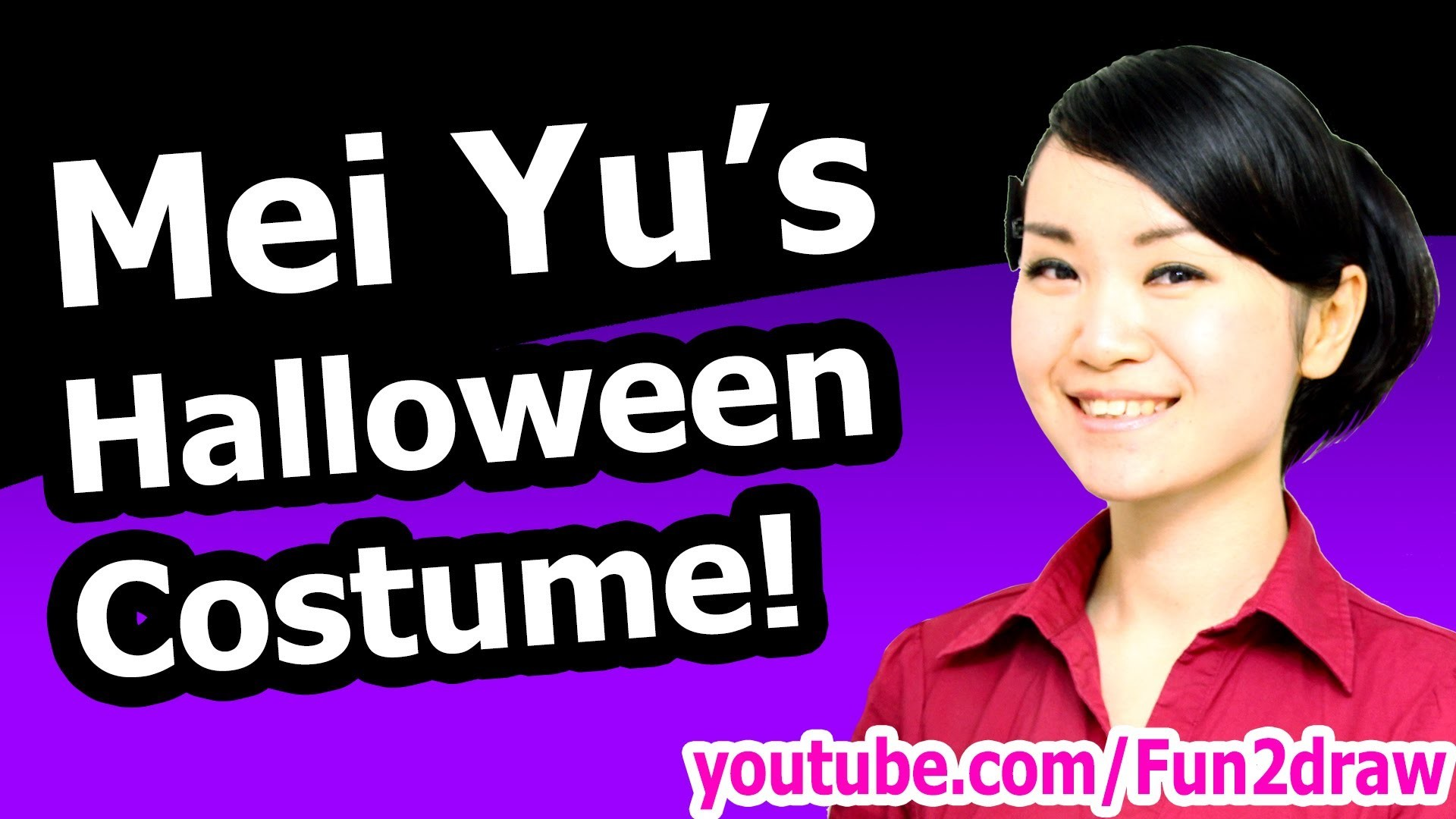 Mei Yu's Halloween Costume + How to Draw Tutorial