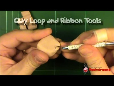 Polymer clay sculpting STEP1 Tools and materials