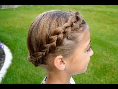 The Crown {Carousel} Braid | Updos | Cute Girls Hairstyles