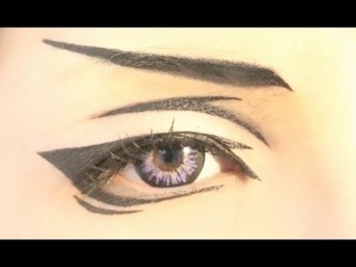 Tutorial : Anime Eye Makeup 19