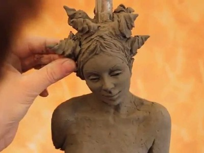 Tutorial: sculpting a female body in clay - www.sculpturered.com