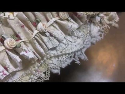 "Vintage Shabby ""Doily and Lace"" collage! Tutorial #2"