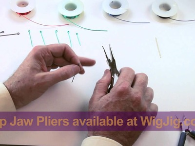 WigJig Video 2 Making P Loops and Eye Loops
