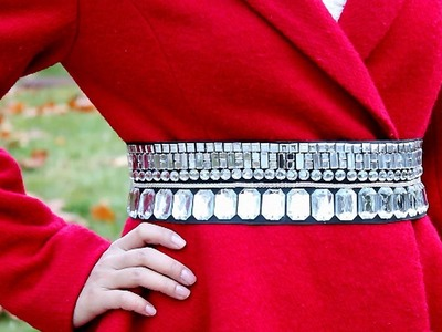 DIY : Crystal Belt