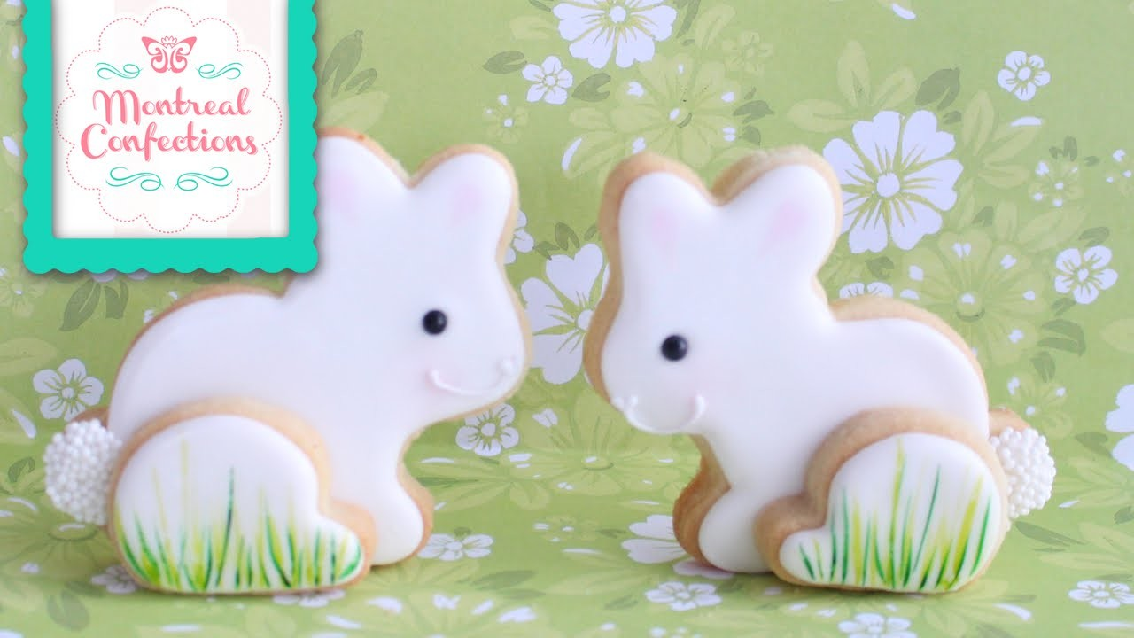 Easter Cookies - How to make a 3D Easter Bunny Cookie