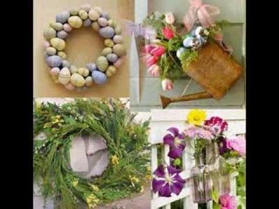 Easter door decoration ideas