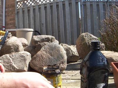Homemade Kerosene Stove