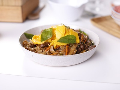 How to cook stir-fried rice noodles with Curtis Stone - Coles