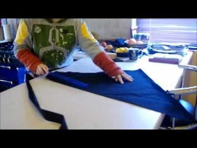 How to cut fabric strips on the bias