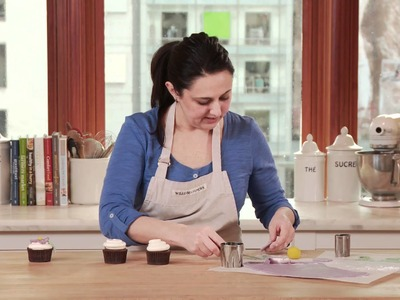 How To Decorate Cupcakes with Marzipan