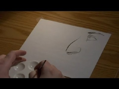 How to Draw With a Brush and Indian Ink : Art Techniques