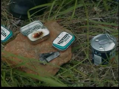HOW TO MAKE A ALTOID CAN POCKET STOVE