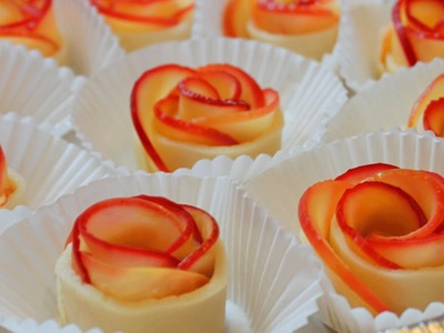How to Make Apple Rose Tart. Valentine's rose