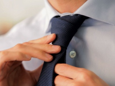 How to Tie a Cross Knot | Men's Fashion