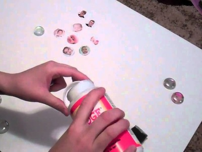 Mommy Blog - Glass Marble Magnets!!! 15 March 2011!