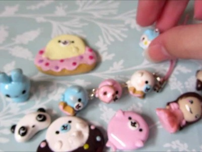 Polymer Clay Charm Update #1-Magnets, Owls and More!