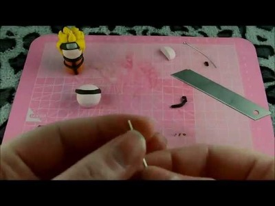 Polymer Clay Tutorial #4 - Naruto