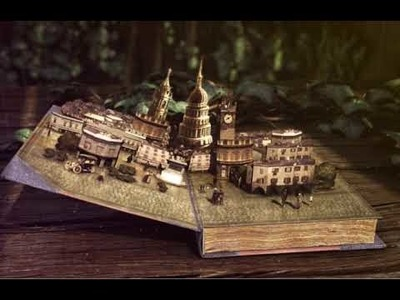 Pop up book 3d animation
