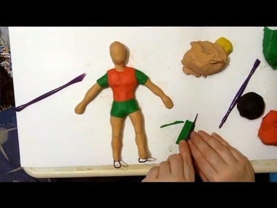 Robin How To Make Boy Wonder Tutorial. Time Lapse (Part 1 of 2)
