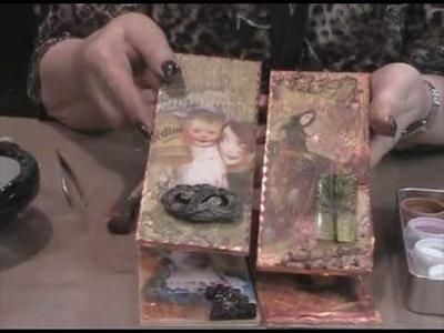 Suze Weinberg Demos Melt Art Beeswax at CHA
