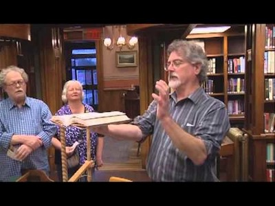 Arts & Culture Series: The Art of Book Binding with Athenaeum Curator Bob Joly
