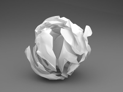 Blender Tutorial: Squished Ball of Paper (Part 2)