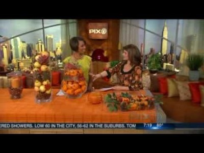 CELEBRITY INTERIOR DESIGNER CATHY HOBBS OF DESIGN RECIPES SHARES FALL DECOR IDEAS ON PIX AM NEWS!