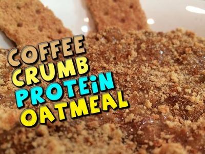Coffee Crumb PROTEIN Oatmeal Recipe (Proats)