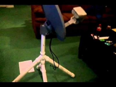 DIY Homemade camping satellite, portable
