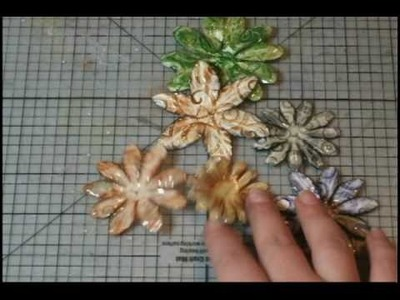 Embossing Your Paper Flowers