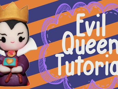 Evil Queen Chibi | Polymer Clay Tutorial