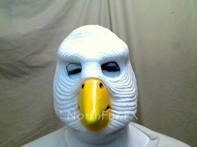 Foam Latex Lyonshel® Dove Face Prosthetic Mask