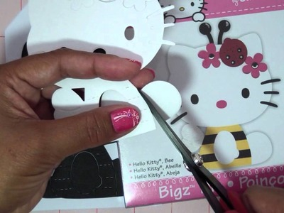 Hello Kitty Card Using a Sizzix Bigz Die (Tutorial)!!!