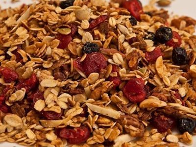 Homemade Granola Recipe - Laura Vitale - Laura in the Kitchen Episode 363