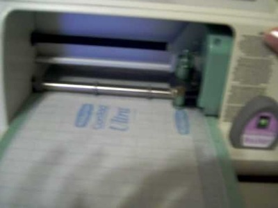 How to cut con-tact paper using the cricut create