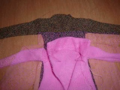 HOW TO MAKE a Barbie coat : My Outfits 4