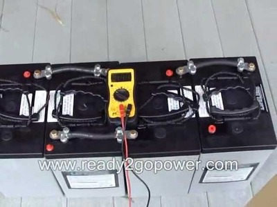 How to make a Battery Bank