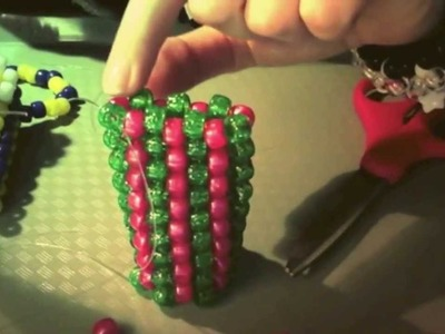 How to make a Kandi lighter. lip chap holder (tutorial)