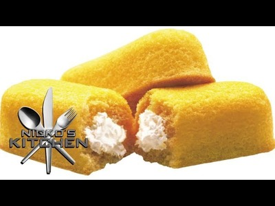 HOW TO MAKE TWINKIES - VIDEO RECIPE