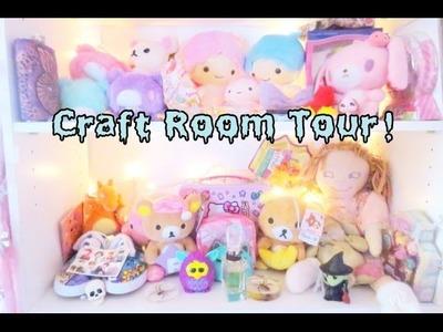 I'M BACK! Craft Room Tour!  (◕‿◕✿)