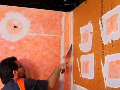 Lightweight Foam Shower Panels Offer an Easy-to-Install Alternative to Mortar